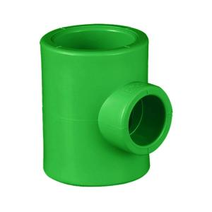 联塑 90°异径三通(PP-R 配件)绿色 dn32X20