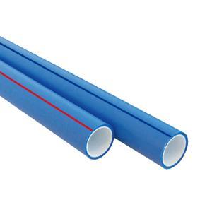 联塑瓷芯系列双色PP-R冷热水管S2.5(2.5MPa)外蔚蓝内瓷白dn253M