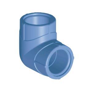 联塑 90°弯头(瓷芯系列PP-R配件)蔚蓝色 dn20