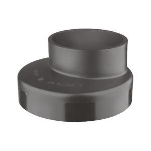 联塑 偏心异径接头HDPE同层排水管件黑色 dn125×110