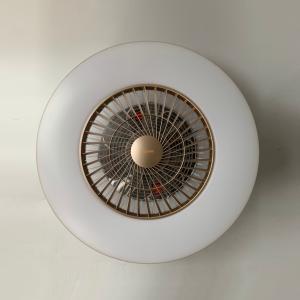 联塑 风扇灯LS6002S-600-X/220V/金色/吸顶/遥控/无极调光/3级调速
