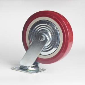 丰顺 重型平底活动 8寸 方边枣红色 配铁盖
