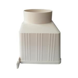 普通 PVC排水方形雨水斗 110