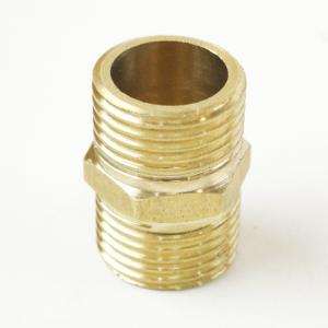 4分DN15不銹鋼直通 不銹鋼銅內接 20mm外牙直通 雙頭牙內接頭