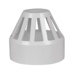 联塑PVC-U排水管配件透气帽50/75/110/110mm透气帽