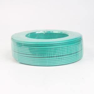 广东电缆单塑BVB7支线1平方绿色