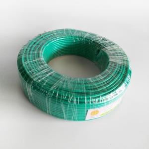 广东电缆 单塑 BV 7支线 10平方 绿色
