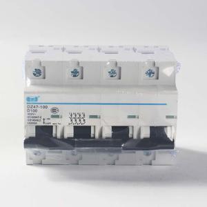 广州珠江DZ47-1P2P3P4P 16 25 32 40 63A 100A空气开关保护断路器