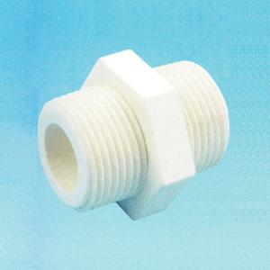 镀锌六角外丝外螺纹直接头 丝口管牙水管配件4分1寸DN15 25 50 65