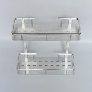 三角置物架浴室置物架壁掛雙層三角架鋁板三腳架層架太空鋁衛生