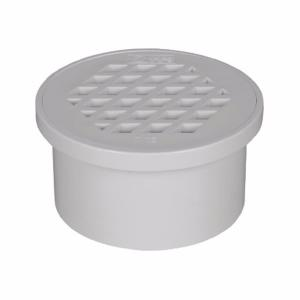 優質PVC排水管DN50-DN160內插地漏 簡易地漏 網格地漏 直插式地漏