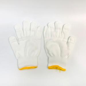 騰飛騰海600克700g棉粗紗線手套耐磨加厚勞保手套白棉紗尼龍手套