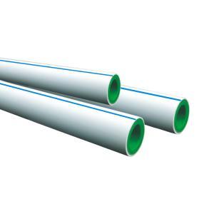 联塑 精品家装双色PP-R给水管S5(1.25MPa)内绿外白色 dn50 3M
