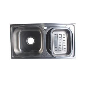 宁博 不锈钢水槽(双槽) 1.2mm 7540