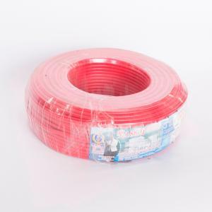 汾江 阻燃铜芯双塑多股线 ZR-BVVR2.5mm 红色 100M
