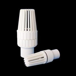 UPVC球型底閥 PVC花籃頭 25 32 40 50 63 75 90 PVC底閥 塑膠底閥