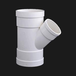 双燕 PVC-U排水配件 斜三通 dn250