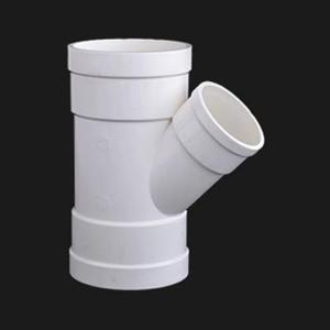 双燕 PVC-U排水配件 斜三通 dn200
