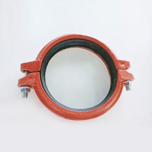 优质 消防沟槽钢卡 dn114