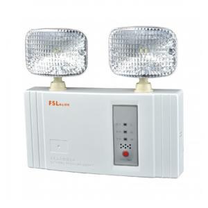 FSL 水晶雙頭方形全塑應急燈 F-ZFZD-E5W5201 FS5201 20*1