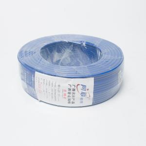 网联电线 BV单股铜线 6m² 蓝色 100M