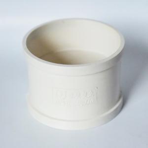 东坚PVC排水直通dn110白色