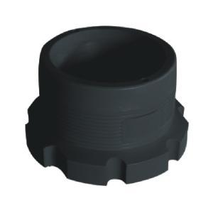 联塑电熔法兰套(PE配件)1.6MPa黑色dn63
