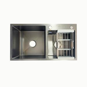 优质黑金刚纳米抗菌水槽78*43ZG-0820005