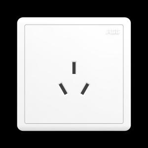 ABB 明致 一位三级插座16A AQ206 (白色)