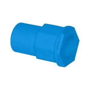 联塑 异径管接头PVC电工套管配件 蓝色 φ20X16