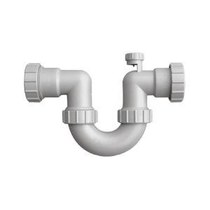 联塑 U型隔气存水弯(带虹吸)PVC-U排水配件 白色 dn50