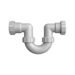 联塑 U型隔气存水弯PVC-U排水配件 白色 dn50