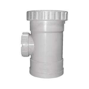 联塑 承插立管检查口PVC-U排水配件 白色 dn125