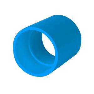 联塑 直通(PVC-U给水配件) 蓝色 dn140