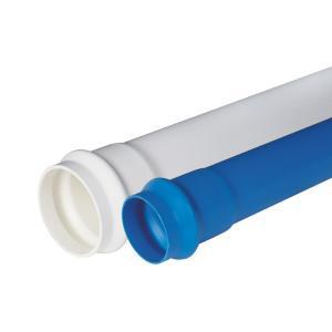联塑 PVC-U给水扩凸口管(含胶圈)(1.0MPa) 蓝色 dn250 6M