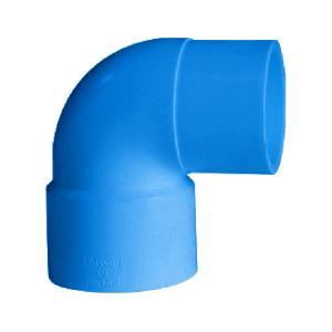 联塑 90°单承插弯头(PVC-U给水配件)蓝色 DN20