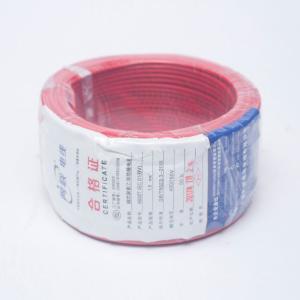 网联电线 BV单股铜线 1.5m² 红色 50M