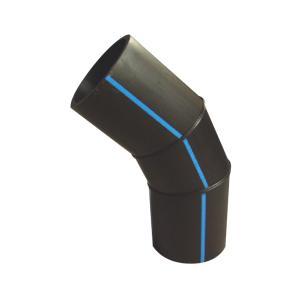 联塑 45°焊接弯头1.0MPa(PE配件)黑色 dn315