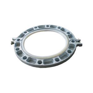 联塑 沟槽法兰(沟槽式)涂塑(PE)钢塑复合管件(冷水用) dn80