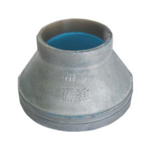 联塑 沟槽内螺纹式异径管固涂塑(PE)钢塑复合管件(冷水用)80X65