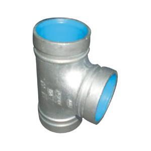 联塑 三通(沟槽式)涂塑(PE)钢塑复合管件(冷水用) dn65