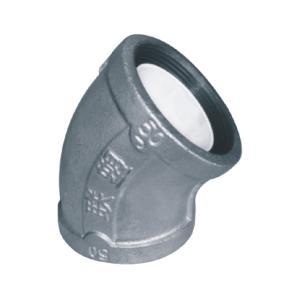 联塑 45°弯头衬塑(PP-R)钢塑复合管件(冷、热水用)白色 dn65