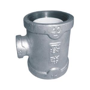 联塑 异径三通衬塑(PP-R)钢塑复合管件(冷、热水用)白色 dn65X15