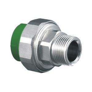 """联塑 外螺纹管接头(精品家装管PP-R配件)绿色 dn20×1/2""""(LS)"""