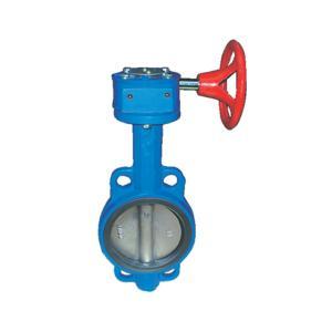 联塑 对夹式蜗轮传动蝶阀D371X-16Q-150