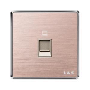 联塑电气 一位电脑插座 PYN01