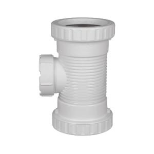 联塑 消音立管检查口PVC-U排水配件白色 dn110