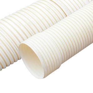 联塑 PVC-U双壁波纹管(外径)米黄色 SN8 250 6M