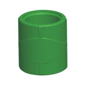 联塑 直通(精品家装管PP-R配件)绿色 dn20