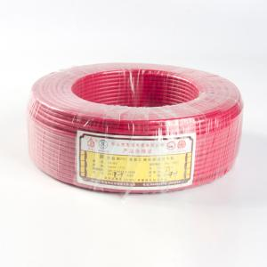 铁城 电线 ZR-BV 6mm 单塑多支 红色 100米